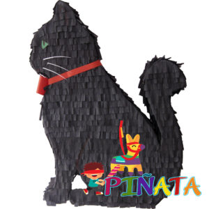 Піньята Чорний Кіт