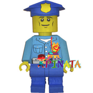 Піньята Лего Поліцейський